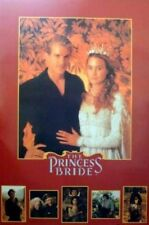 THE PRINCESS BRIDE MOVIE POSTER ROLLED 1987 23X35 ROBIN WRIGHT CARY ELWES