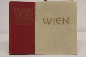 altes Fotoband Bildband von Wien viele Stadtbilder Österreich um 1910 Vienna