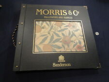 Beautiful Morris & Co.Wallpaper and Fabric Large Sample Book by Sanderson 1996