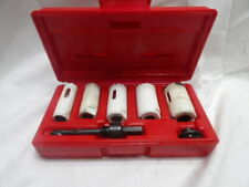 """Blue-Point 6 Pc. Hole Saw Kit 3/4"""" to 1-1/4"""""""