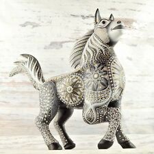 A1601 Horse Alebrije Oaxacan Wood Carving Painting Handcrafted Folk Art Mexi