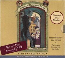 The Bad Beginning (A Series of Unfortunate Events: First Book) Audio CD