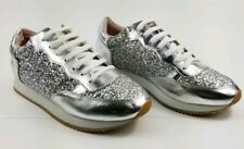 Kate Spade Felicia Silver Sneakers new size 9