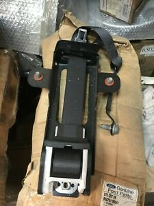 Genuine Ford FG Falcon Front Right Seat Belt Assembly - Black - Bench Seat