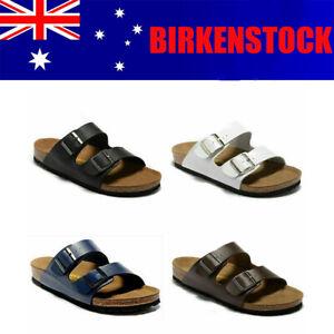 Birkenstock Arizona Birko-Flor Nubuck Sandals - Regular Unisex Men's Women's