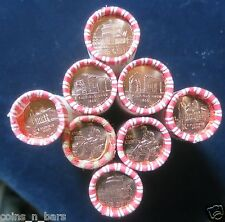 2009 P&D 8 Roll H/T SET LINCOLN CENT~LOG CABIN~FORMATIVE~PROFESSIONAL~PRESIDENCY