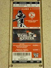 2013 World Series Original Ticket - Red Sox vs. Cardinals Game 1