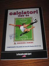 ALBUM CALCIATORI FIGURINE PANINI GAZZETTA DELLO SPORT 1985/86 1985 1986