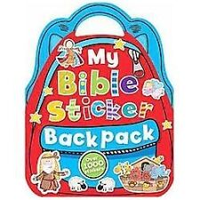 My Bible Sticker Backpack by Fiona Boon (2013, Paperback)