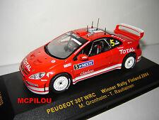 IXO RAM152 PEUGEOT 307 WRC N°5  WINNER RALLY FINLAND 2004 au 1/43°