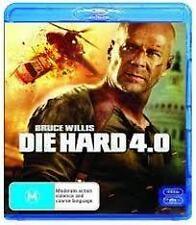 DIE HARD 4.0 - BRAND NEW & SEALED BLU RAY (BRUCE WILLIS, JUSTIN LONG)