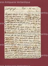 Original Letter 1722 Meeting Chronicle Louis XV Infanta Spain Mariana Victoria