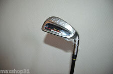 Mission tower iron 6 golf club ultra light graphite flex s r nine sr