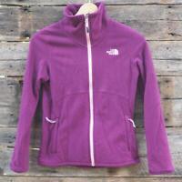 The North Face Fleece Jacket Women's Full Zip Size Small Plum Purple