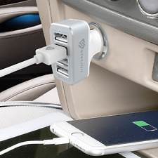 Car Charger 4 Port Multiple USB Rapid Travel Adapter For Iphones Samsung Tablets