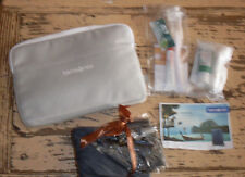 NEW Samsonite Business Class travel toiletries Amenity Kit in bag kit Lufthansa