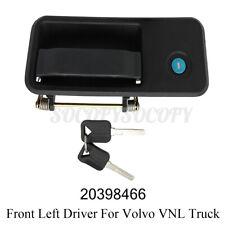 For Volvo Vnl Truck Door Handle Set With 2 Keys Front Left Driver Side Black Us Fits Volvo