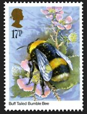 Buff tailed bumble bee on 1985 stamp