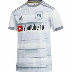 Adidas MLS LAFC Football Club 20/21 Alternate Away Jersey GE5944 YoutubeTV Sz L