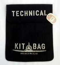 BNWT Case Ipad-técnico bolso de kit de lona Azul Marino fuerza aérea de aviación vintage