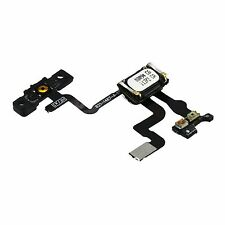 NEW Replacement Power Button Flex Cable With Ear Speaker & Bracket For iPhone 4S