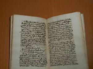 1762 rare antique manuscript book theology Grace catholic church Christianity