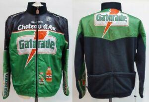 GIUBBINO CHATEAU D'AX GATORADE SANTINI CICLISMO CYCLING shirt maillot maglia V