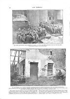 WWI Bataille de la Marne Poilus Soldats Colonel de Lichtenberger  A ILLUSTRATION