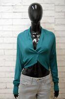 LIU JO Maglione Size 44 Cardigan Donna Pullover Sweater Woman Coprispalle Verde