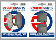 Hyosung 125 Boomer 2003 Front & Rear Brake Pads Full Set (2 Pairs)