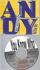 CD--YOU KNOW WHO - SINGLE -- ANDY-HUBERTUS HOHENLOHE -REMIXED, 4 VERSIONS,   -