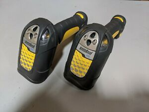 Lot of 2x Symbol DS3478 Wireless Barcode Scanner DS3478-SF20005WR