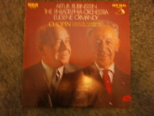 Chopin: Concerto F minor; Grand Fantasy- Rubinstein, Ormandy, Phil. Orch RCA  LP