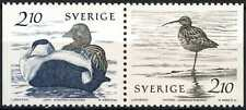 Sweden 1986 SG#1289-90 Water Birds MNH Pair #E7188