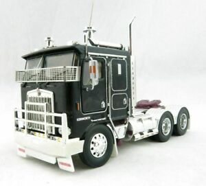 Kenworth K100G Truck - Black/Purple - Iconic Replicas 1:50 Scale Model New!