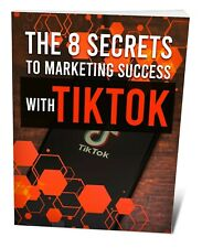 Tik Tok MarketingE BOOK PDF WITH RESELL RIGHTS DELIVERY 12hrs