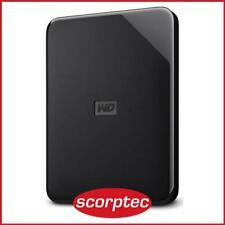 WD Elements SE 2TB USB Portable HDD - Black