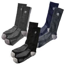 Timberland Men's Essential Wicking Coolmax Crew Socks (2-Pack) A1EBI