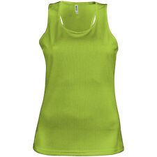 Kariban PA442 Womens Proact Active Sport Vest Quick Dry Polyester Sleeveless Top