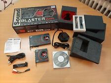 Creative Sound Blaster ZxR Interne Soundkarte SNR 124dB, PCI-Express, 3,5 mm Jac