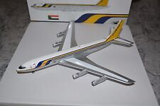 "Aviation 200 1/200 Scale Sudan Airways 707-320 ""Blue Nile - Silver"", ST-AFA, NIB"