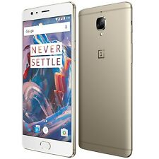 "Oneplus 3T 5.5"" OxygenOS 4G Smart Mobile Phone Snapdragon 821 Quad Core 64GB/6GB"