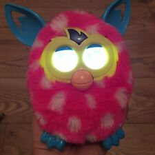HASBRO FURBY Boom 2012  Funny Adorable  Interactive Toy Pet pink & white spots