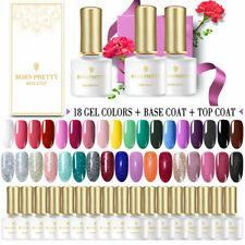 BORN PRETTY Soak off UV LED Gel Nail Polish 20PCS Set for Starter Nail Varnish