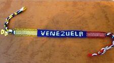 2X COUNTRY FLAG WRISTBAND FRIENDSHIP BRACELET, VENEZUELA, 2 for $6.99, 4 for $10