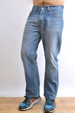Levis 752 Mens Jeans Blue Vintage Cotton Straight leg Red Tab Faded Flared W32