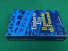 Umberto ECO - IL PENDOLO DI FOUCAULT , Bompiani (1° Ed 1988) Libro Cop. Rigida