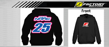 CUSTOM NAME AND NUMBER  HOODIE SWEAT SHIRT MX MOTOCROSS  Style #3