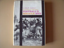 FOOTBALL'S MIRACLE MEN The Baltimore Colts Story signed by Art Donovan