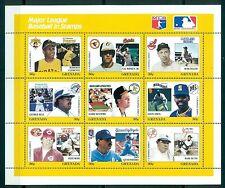 GRENADA *1988 * 9 M/Sheets(9X9 stamps) MNH** Major League Baseball -Mi.No1829-09